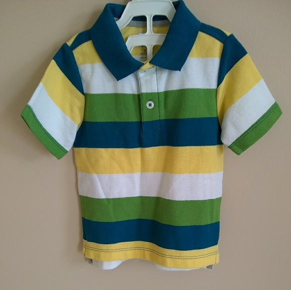 14ee379e Old Navy Shirts & Tops | Boldstripe Jersey Polo For Toddler Boys ...